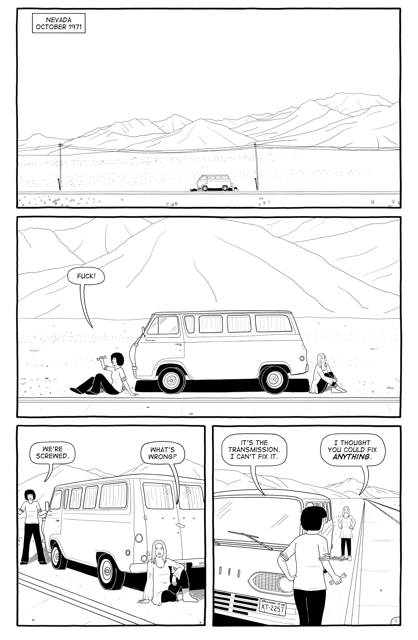 Empty Sky page 1 sample