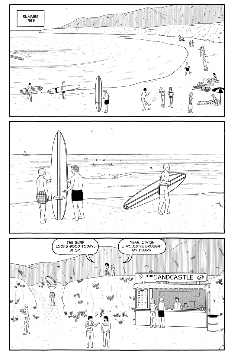 Johnny Tsunami page 1